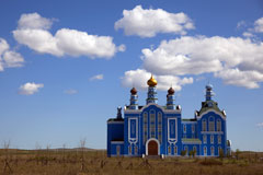 Russian Orthodox church, Manchuria, China