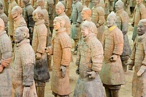 terra cotta warriors - xian, china
